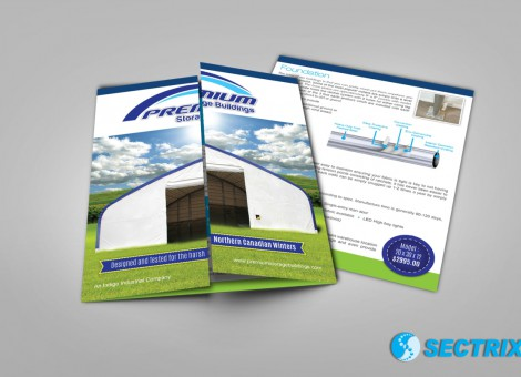 gate-fold brochure design