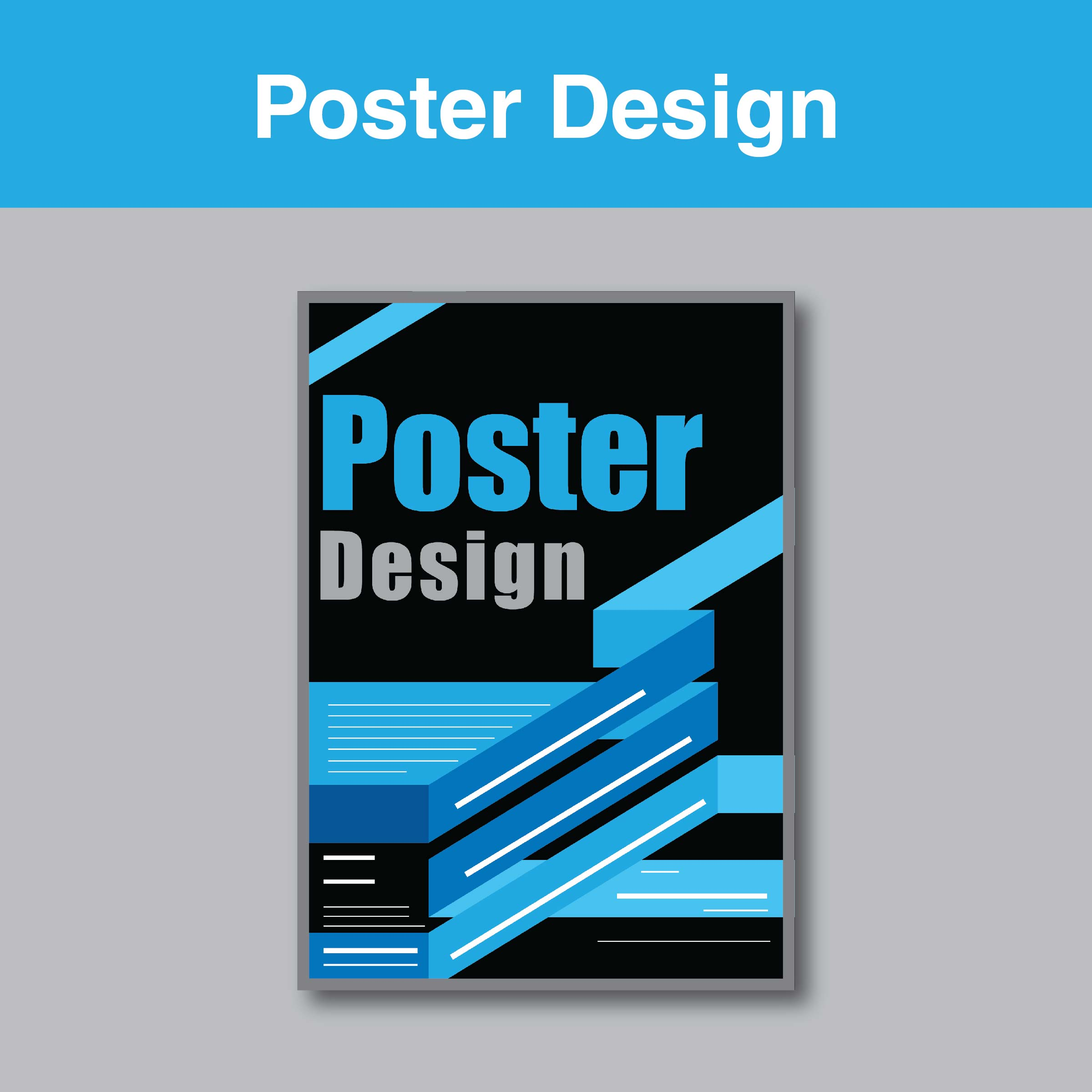 Poster design service - Connect On Facebook