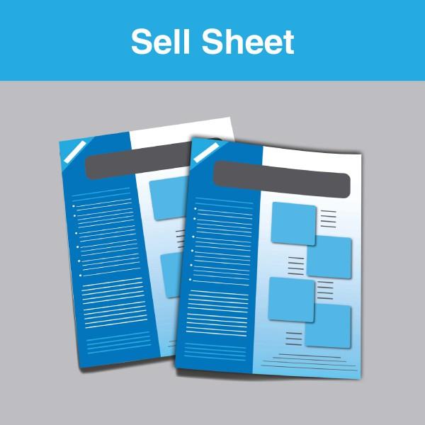 Sell Sheet