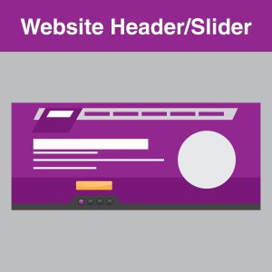 website header/slider